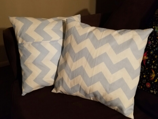 Tutorial – Throw Pillow Cover – 1hr Easy Sewing Project